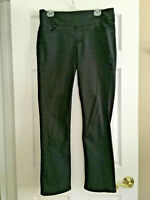 "JAG Jeans Blac Straight Leg Pull On Stretch High Rise Womens sz 12 x 32"" Inseam"