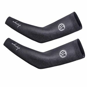 Arm Sleeve Ice Silk Sun Protection Cover Outdoor Sports Cycling Basketball 2pcs