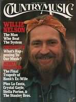 Country Music Magazine February 1976 Willie Nelson EX 112315DBE2