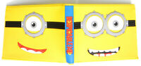 The Minions Despicable Me Wallet purse Bifold Credit cards id window 2 card slot