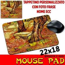 Tappetino Mouse Pad personalizzabile sp 2mm Collezione Van Gogh Stone Bench in t