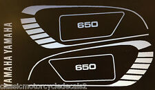 YAMAHA XS650 COMPLETE DECAL SET