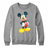 Medium Cute Mickey Mouse Jumper, Funny Love Cartoon Gift Adult &Kids Jumper Top