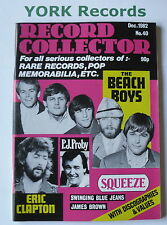 RECORD COLLECTOR MAGAZINE - Issue 40 December 1982 - Beach Boys / Eric Clapton