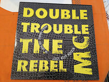 "DOUBLE TROUBLE + THE REBEL MC - Just Keep Rockin' - 1989 UK 12"" HIP HOUSE - NM+"