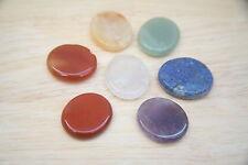 CRYSTAL CHAKRA SET 7 natural - Reiki infused energy healing - gem stones USA
