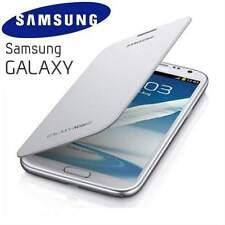 Genuine Samsung Galaxy Note 2 N7100 Original Flip Cover Case EFC-1J9FWEG | White