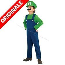 COSTUME LUIGI  tg.S 3-4anni Carnevale Videogiochi Super Mario Bros 883654S