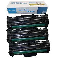 3x tóner para Samsung ml1610 ml2570 ml2010r ml2571 n ml2510 ml1625 R scx4521fr XL