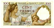 France ... P-94 ... 100 Francs ... 1941 ... *XF*
