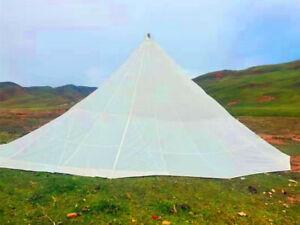 Military White Round Diameter 10m /33Ft Parachute Canopy