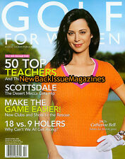 Golf For Women 4/05,Catherine Bell,April 2005,NEW