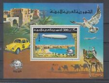 D.Aviation Libya Block 25 a Zeppelin (MNH)