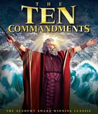 THE TEN COMMANDMENTS NEW BLU-RAY DISC