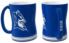 Duke Blue Devils 14oz Sculpted Relief Coffee Mug NCAA - Boelter Brands
