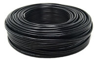 14 Gauge 100 Feet Black Stranded 2 Conductor Copper Clad Speaker Wire Car Audio