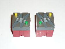 trix/ minitrix  - 66412 + 66413 Baustein DKW rechts + links -  Neu!   X(HH-2)X