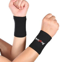 2 Pcs Compression Wrist Sleeve Wrist Support Brace for Men & Women Pain Relief