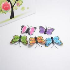 10pcs Plastic Realistic Artificial Butterfly For Wedding Home Decoration