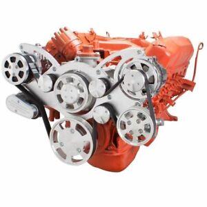 Big Block Chrysler Serpentine System All Inclusive 383 400 426 440 MOPAR AC BCR