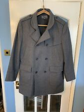 Gents Quality Grey Double Brested Coat