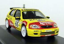 Ixo 1/43 Scale RAM062 Citroen Saxo Super 1600 Rally Catalunya Diecast Model Car