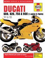 1991-2005 Ducati Monster 600 620 750 900 SuperSport HAYNES REPAIR MANUAL 3290