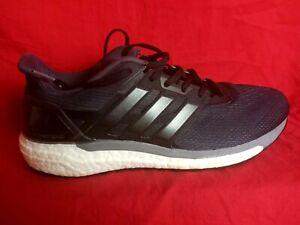 adidas Men 10 1/2 Supernova Boost BB6030 Black Torsion System Sneaker Shoe