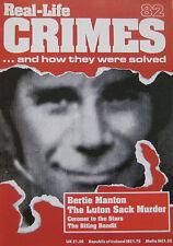 Real-Life Crimes Issue 82 - Bertie Manton The Luton Sack Murder