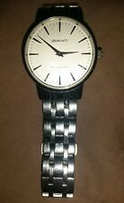 Gant Park Hill XXXII 32 Wrist Watch Used Stainless Steal