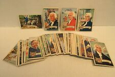 1952 Bowman United States Presidents Collector Series Cards Washington Lincoln