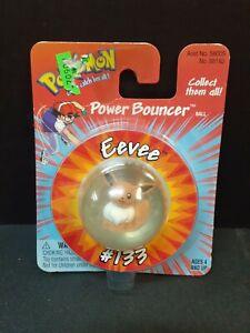 1999 Eevee Power Bouncer Hasbro/Nintendo Pokemon Bouncy Ball