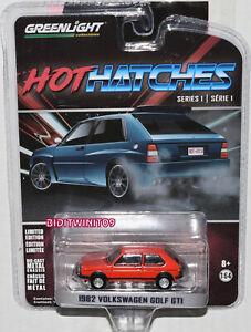 GREENLIGHT HOT HATCHES SERIES 1 1982 VOLKSWAGEN GOLF GTI