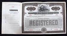 International Great Northern Railroad company series B  $10,000 Bond 1922