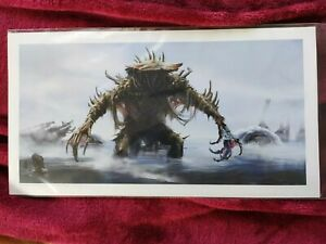 Loot Crate Gaming Exclusive Fallout Collectible Art Print, New