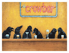 Will Bullas Crow Bar Print Poster 17x13