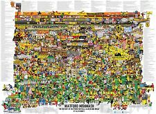 Watford Mishmash - The History of Watford Football Club in One Image Poster