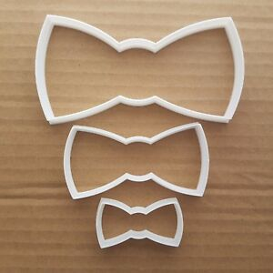 Dickie Bow Shape Cookie Cutter Bow Tie Dough Biscuit Pastry Shaped Formal