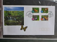 2003 AUSTRALIA NATURE OF AUSTRALIA RAINFORESTS SET 4 STAMPS FIRST DAY COVER P&S