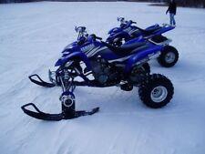 ATV Tires to Polaris Skis Conversion Kit for Predator 500 Outlaw 425 525 Ranger