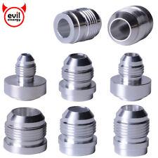 4AN 6AN 8AN 10AN 12AN 16AN Male Fuel Hose Weld On Fitting Bung Nitrous Aluminum