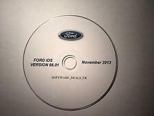 Los identificadores de Ford v86.01 noviembre 2013 versión en DVD. con los archivos de calibración c81.