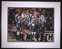 Multi Signed Framed Newcastle Entertainers Photo + Proof Ferdinand Keegan