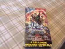 G. I. JOE THE MOVIE VIDEO & SLEEVE VHS SUNBOW PRODUCTIONS HASBRO 1987 New!