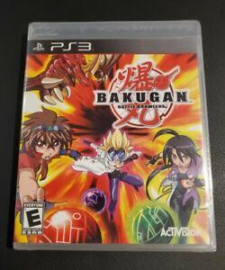 Bakugan: Battle Brawlers PS3 Game BRAND NEW SEALED