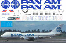 1/144 PAS-DECALS Zvezda Revell Decal For Boeing 747100 Pan-American Pan Am
