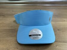 Puma Sport Visor Golf Hat Ethereal Blue Gray Women's Adjustable ( 022541 04 )