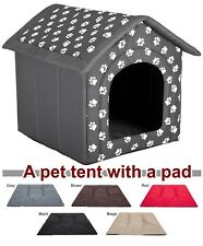 Doghouse kennel tent with pad igloo house dog bed fabric indoor large xxl cave  sc 1 st  eBay & Dog Tents | eBay