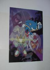 Sonic the Hedgehog Poster # 5 Sonic Shadow Finitevus by Tracy Yardley Movie