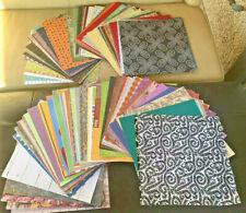 Lot of 300 Sheets 12x12 Scrapbook Paper & Cardstock Crafting Scrapbooking Crafts